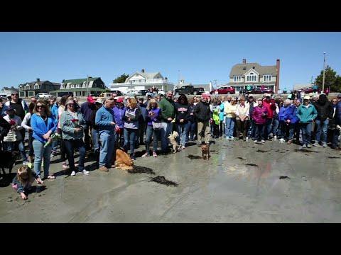 Maine Community Remembers Barbara Bush