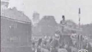 Barnum and Bailey parade (1899). Clip 1
