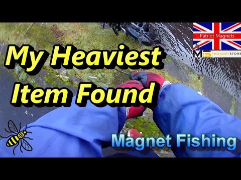 My Heaviest Item Found Magnet Fishing