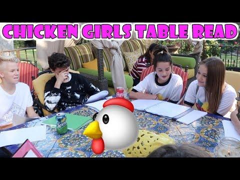 Chicken Girls Table Read 🐔 (WK 352)   Bratayley