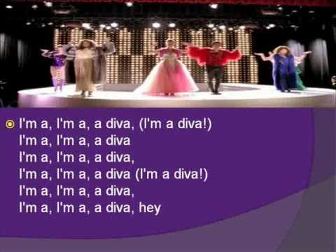 Glee Diva lyrics