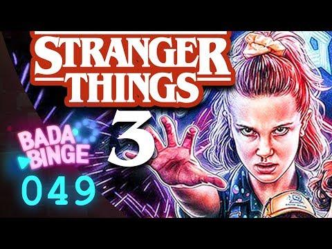 Play Stranger Things 3 - das leckere Retro Schnitzel?! mit Gast Simon | Bada Binge #49