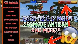 Pixel Gun 3D 12.0.1 Modded/Hacked Menu APK!!! Unlimited Coins & Gems, Antiban, Godmode And More!!!