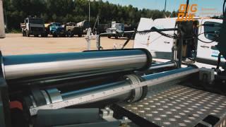Ввод в эксплуатацию асфальтоукладчика DYNAPAC SD2500C(, 2014-11-17T06:35:37.000Z)