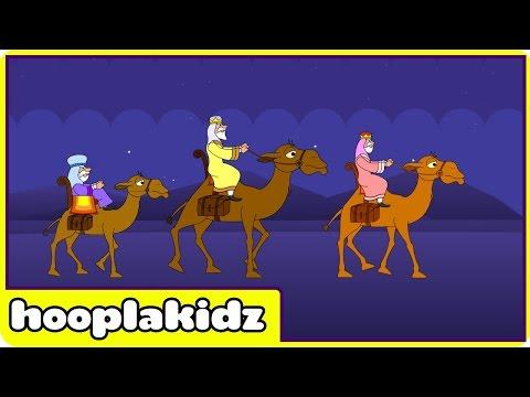 We Three Kings  Christmas Songs for Children  Hooplakidz