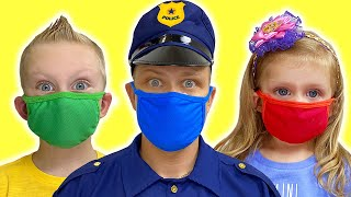 Wear your mask - a story for kids by Martin and Monica