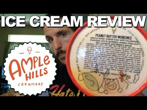 Ice Cream Review: Ample Hills' Peanut Butter Munchies