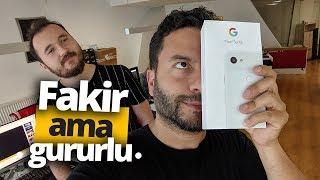 Google Pixel 3a XL Kutu Açılışı - Google'dan fakir ama gururlu telefon