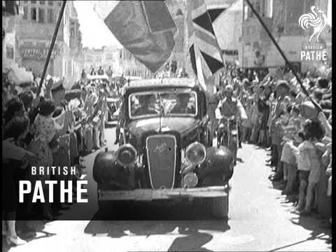 Malta Welcomes The King (1943)
