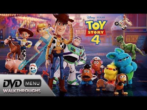 Toy Story 4 Dvd Menu