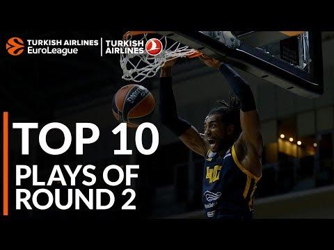 Turkish Airlines EuroLeague Regular Season Round 2 Top 10 Plays