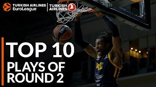 Turkish Airlines EuroLeague Regular Season Round 2 Top 10 Plays