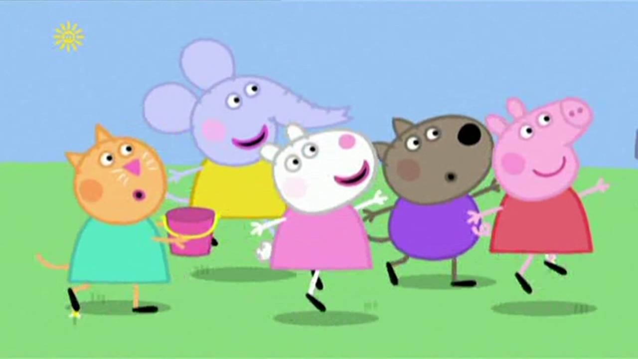 Peppa Pig - The Sandpit (34 episode / 4 season) [HD]