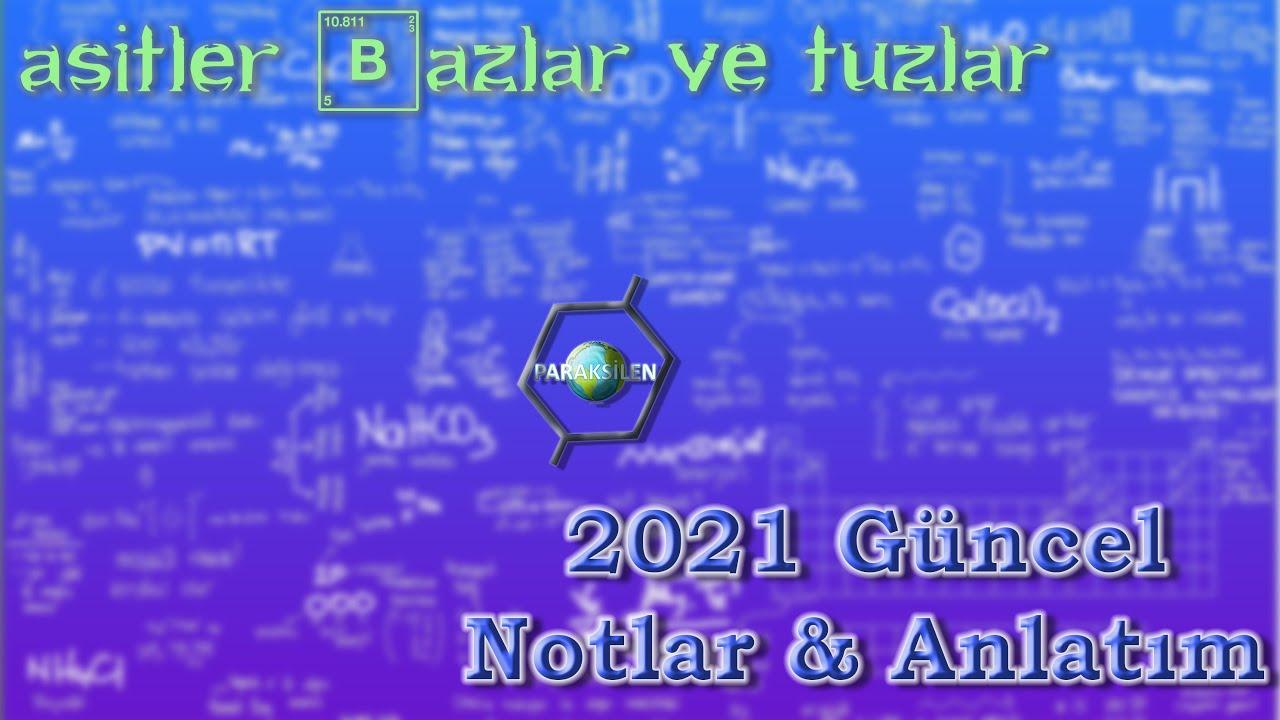TYT KİMYA TAKTİKLERİ - Asitler, Bazlar, Tuzlar #KimyaAdası