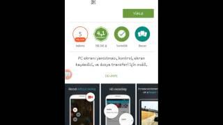 Android Telfonda Ekran Kaydi Rootsuz