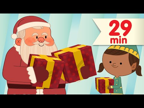We Wish You a Merry Christmas + More  Christmas Songs for Kids  Super Simple Songs