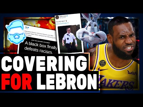 Lebron James DEFENDED By NBA, Lakers & Sponsors After DANGEROUS Tweet Blasting Hero Cop