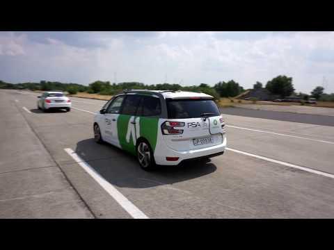 PSA Group and AImotive self-driving pilot