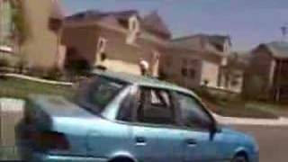 """Guy gets his car stolen while he's """"ghosting"""""""