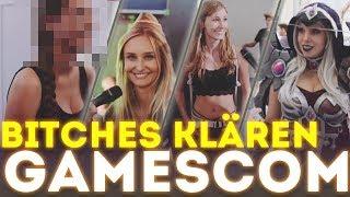 Bitches klären auf der Gamescom 2017 !!!