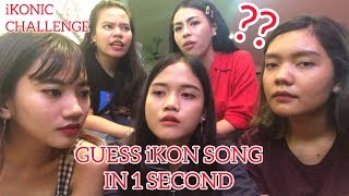 [iKONIC CHALLENGE] GUESS iKON SONG IN 1 SECOND!!