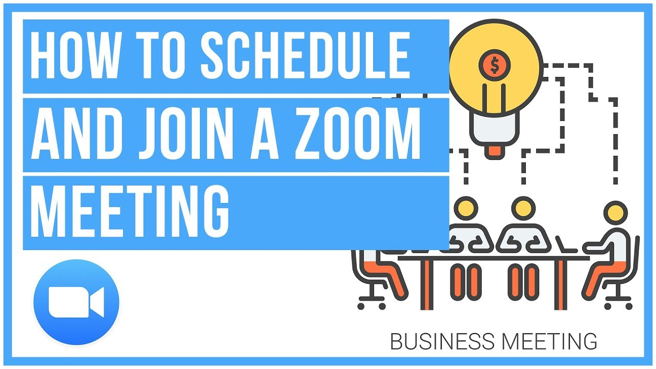 How To Schedule And Join A Zoom Meeting - YouTube