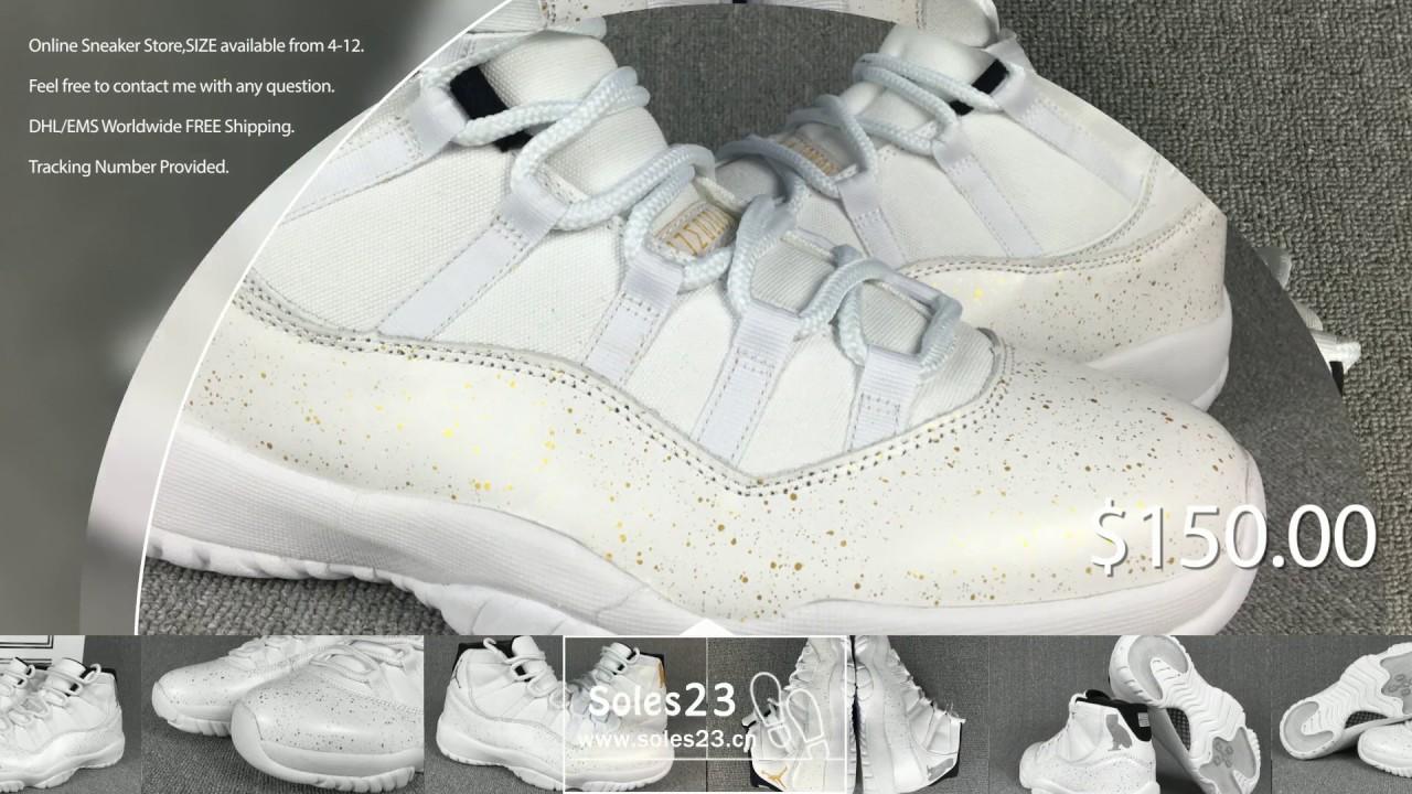 4d76d2b114ed31 soles23.cn)  150 Air Jordan 11 OVO - YouTube