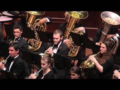 UMich Symphony Band - Vittorio Gianinni - Variations and Fugue