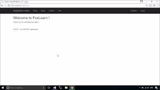 ASP.NET MVC #1 : Getting Started | FoxLearn