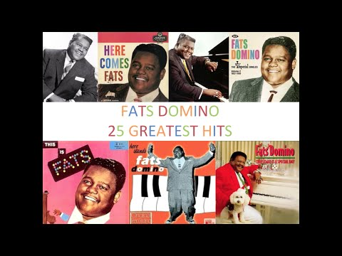 Best of Fats Domino - top 25 greatest hits (original whole songs) mix compilation rhythm and blues