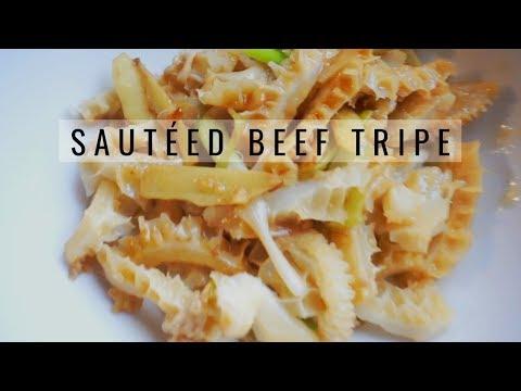 Easy Sautéed Beef Tripe   Easy Beef Tripe Recipe