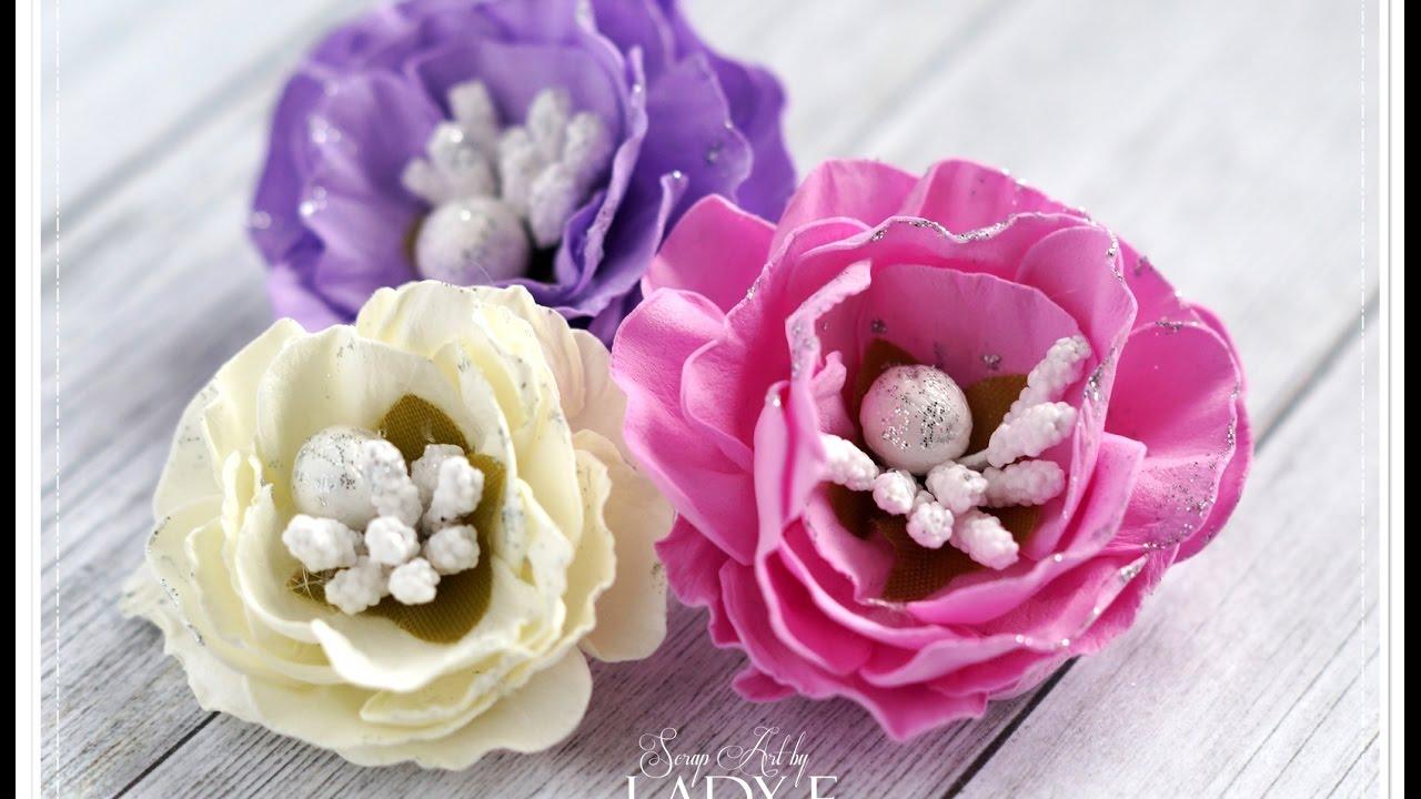 Kurs Na Kwiatek Z Pianki Foamiran Emilia Sieradzan Youtube