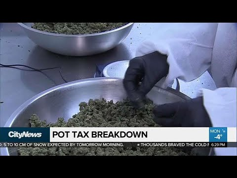 Feds to give provinces 75 per cent of pot tax revenues