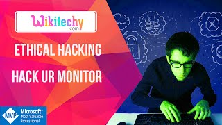 Ethical Hacking Hack ur monitor |  Hack Monitor | Hacking | System Hacking | Monitor | Wikitechy.com