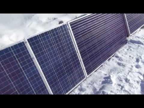 Aurinkosähköesittely / Solar Energy