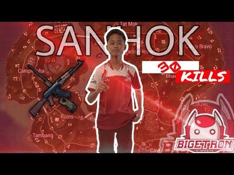 BTR ZUXXY NGEBANTAI WARGA SANHOK SOLO VS SQUAD 30 KILLS - PUBG Mobile Indonesia