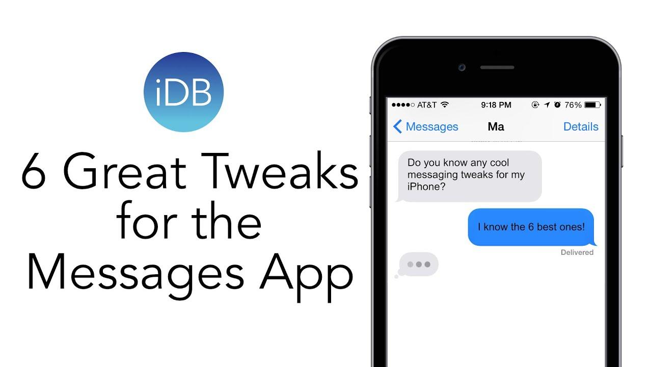 6 great jailbreak tweaks for the Messages app