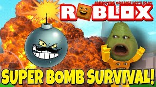 Pear Plays - ROBLOX: Super Bomb Survival!