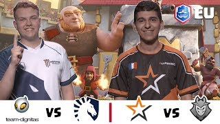 CRL Europe: Dignitas v. Team Liquid  | Allegiance v. G2 Esports