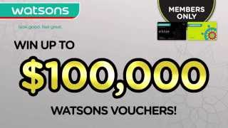 Only for Watsons Card Members - Round 1 Thumbnail