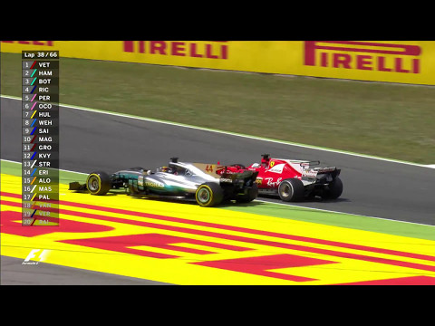 2017 Spanish Grand Prix: Hamilton Battles Vettel