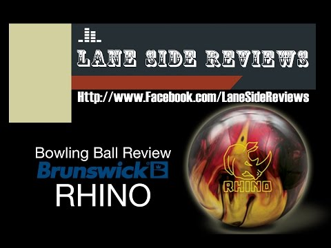 Brunswick Rhino Ball Review by Lane Side Reviews
