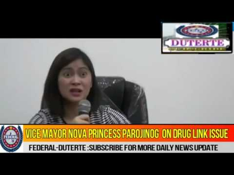 Vice Mayor Nova Parojinog Relationship with Bigtime Druglord Colangco Defend Herself About Issue