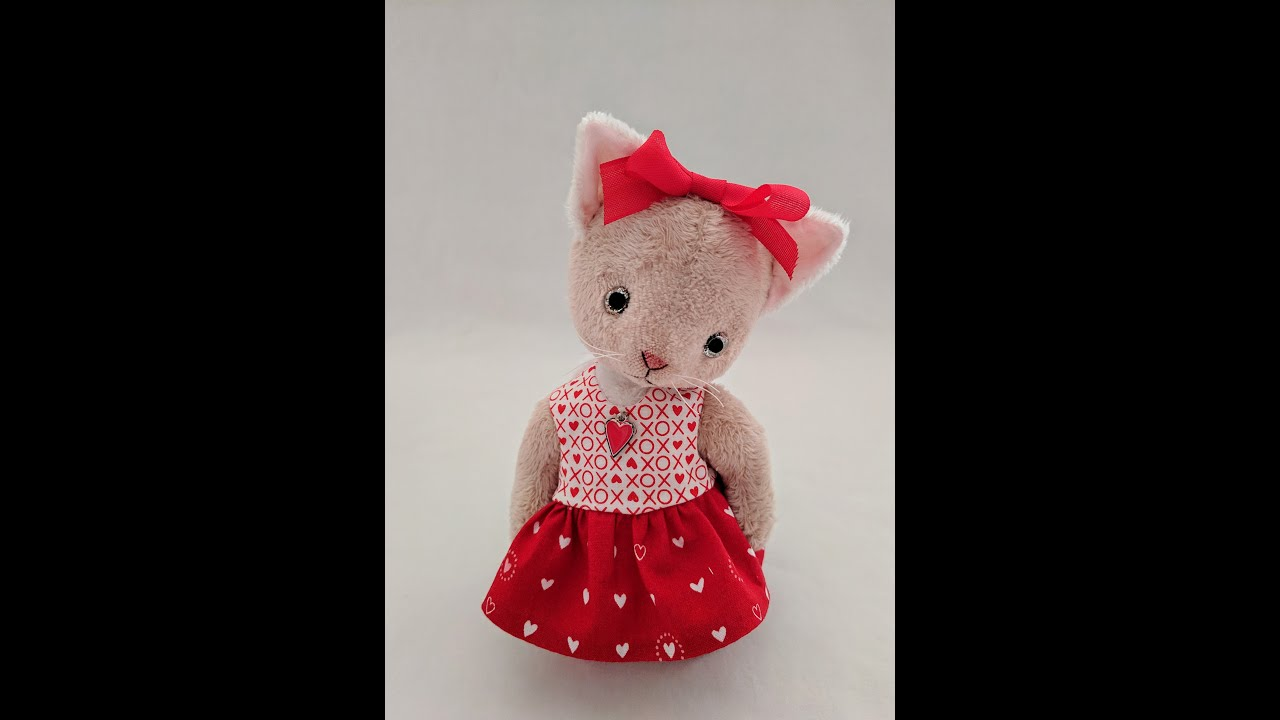 How to Make a Cute Teddy Dolly Head