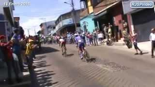 """Vuelta al Táchira en Bicicleta 8va. Etapa. """"LLEGADA AL CERRO EL CRISTO"""" 16 de Enero de 2015"""