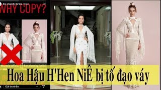 H'Hen Niê bị thương hiệu nước ngoài tố diện thiết kế đạo nhái