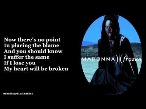 Madonna - Frozen (Lyrics On Screen)