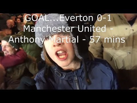 Everton v Manchester United | Match Day Vlog | Premier League | 01.01.2018