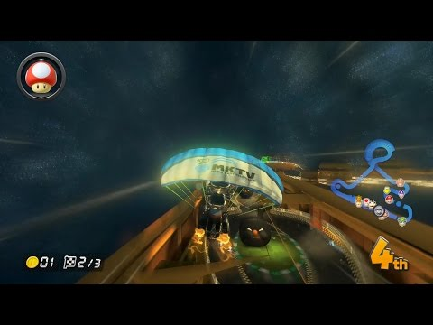 Mario Kart 8 - Leaf Cup 200cc & Out of Bounds in Music Park