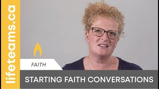 Starting Faith Conversations